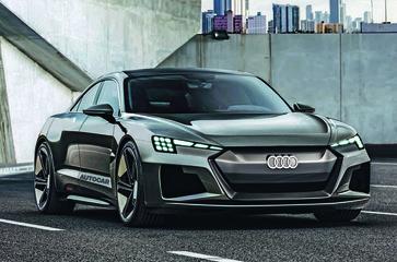 Audi работает над ярким электрическим спорткаром